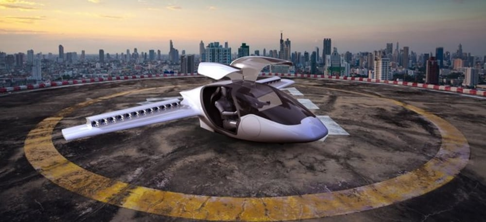 Vertical-Take-Off-And-Landing-VTOL-Air-Travel-For-The-MassesLilium-Electric-Jet Нисдэг машиныг амжилттай туршлаа