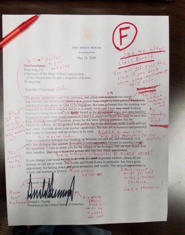 """15274961405b0bbdccb63f2 Д.Трампын захидал """"F"""" үнэлгээ авав"""