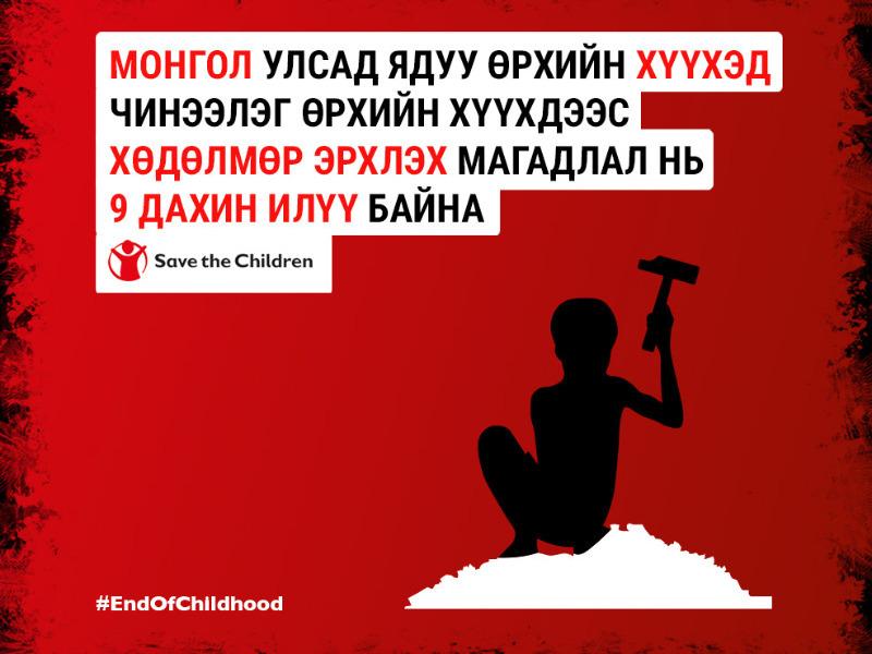 """52e17d2b-215f-4c02-b410-2b0c7f48ff8d Хүүхэд насыг """"Хулгайлсан"""" үзүүлэлтээрээ Монгол Улс дэлхийн 175 орноос 71-т жагсжээ"""