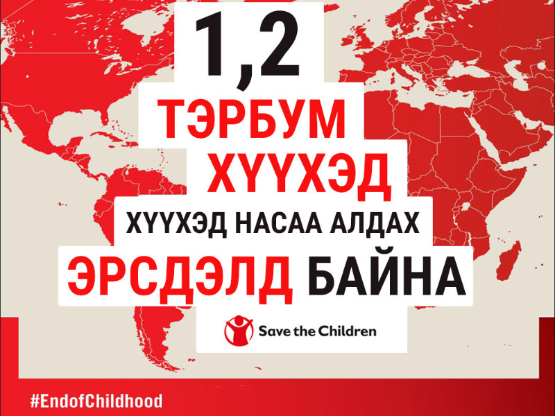 """7108fe90-e7ee-4847-9174-c5f96f1071cd Хүүхэд насыг """"Хулгайлсан"""" үзүүлэлтээрээ Монгол Улс дэлхийн 175 орноос 71-т жагсжээ"""