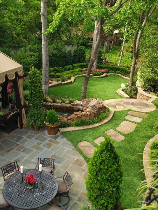 best-25-large-backyard-ideas-on-pinterest-designs-stepping-stones-paving-1 Хашаандаа эзэн хүн шиг амьдаръя
