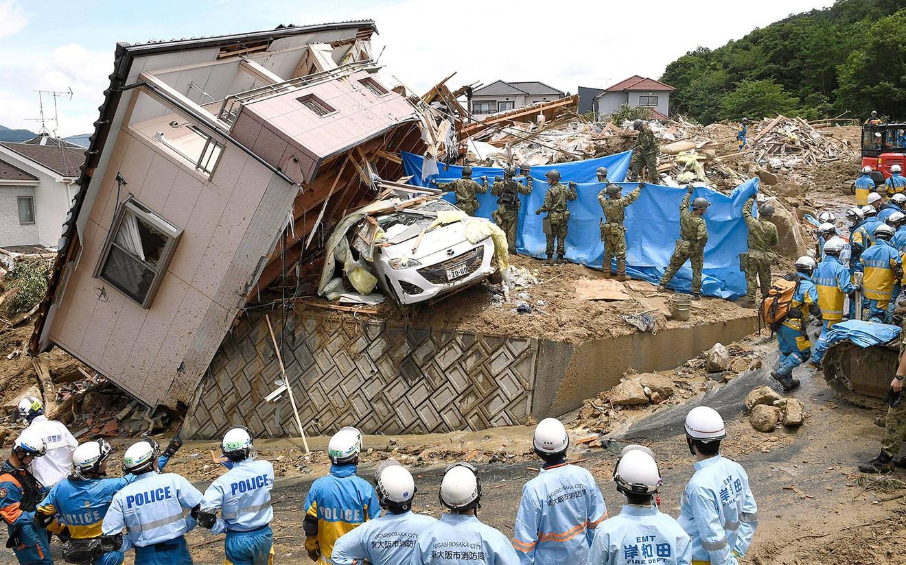image_660 Японд буусан үерийн улмаас 122 хүн амиа алдаад байна