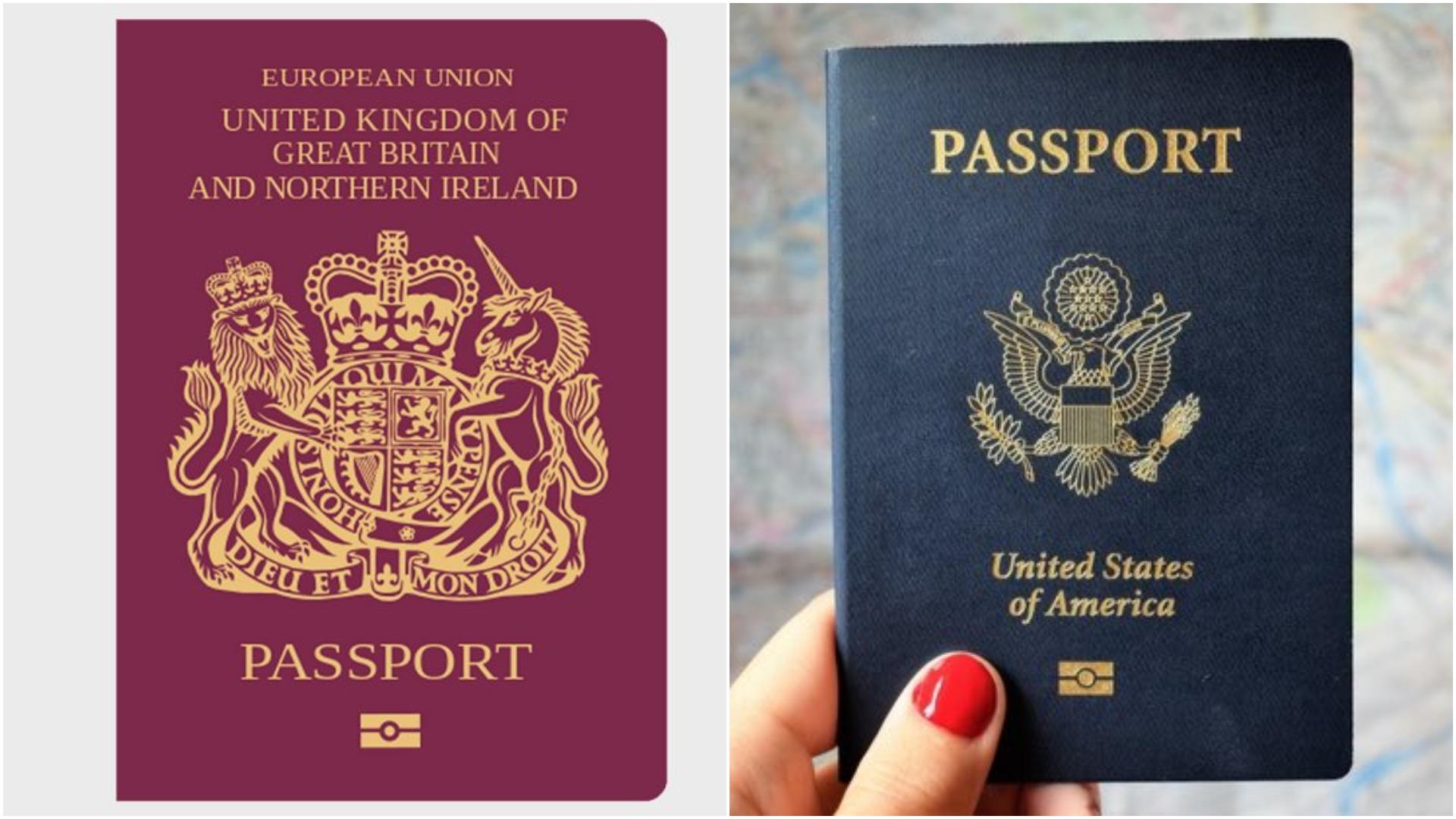 АНУ Дэлхийн хамгийн хүчирхэг гадаад паспорт