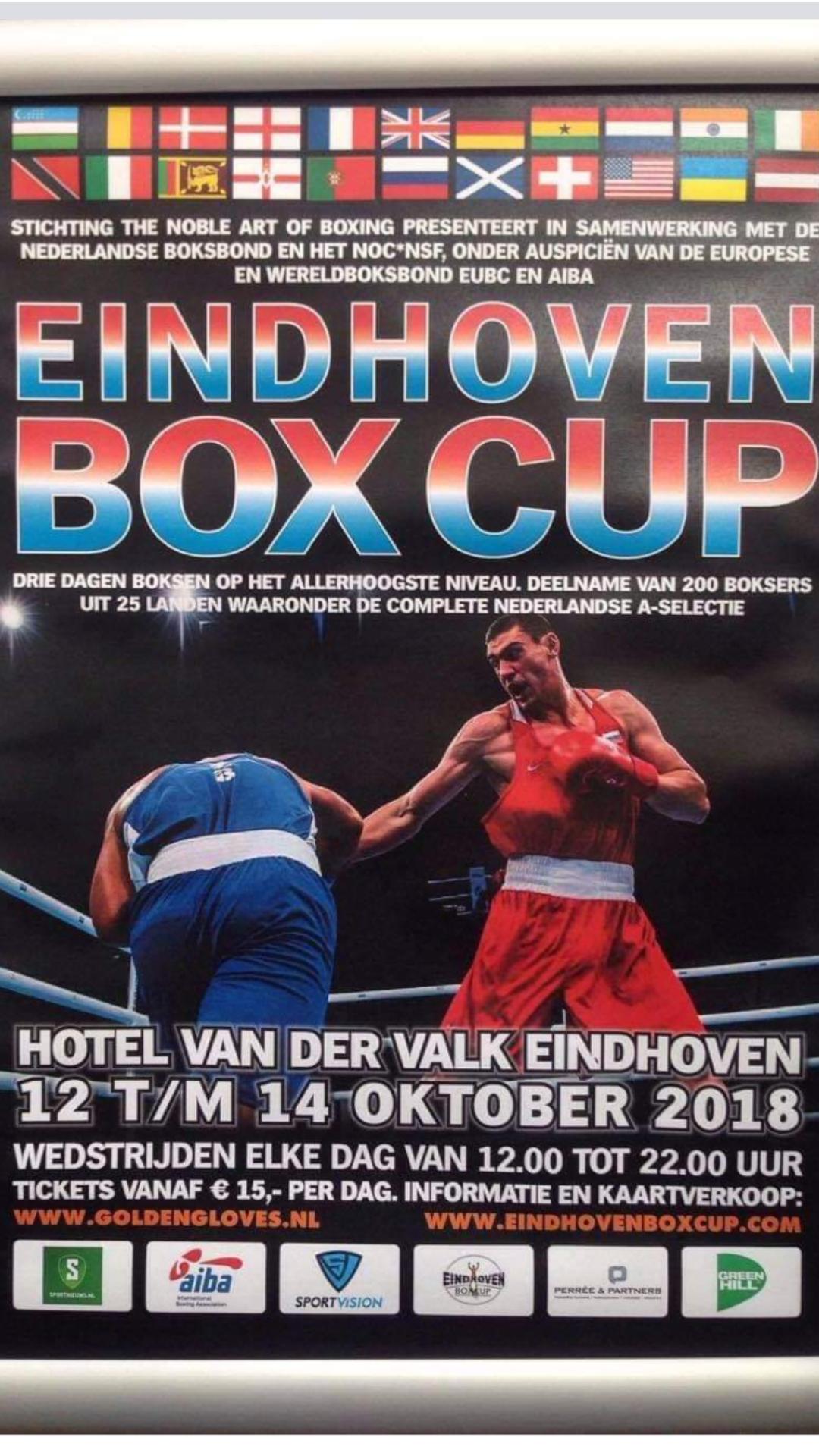 """10-15 """"Eindhoven Box Cup""""-д манай баг шилдгээр шалгарчээ"""