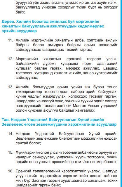 3-6 Ж.Батзандан: Зургаахан гишүүн суугаад хүний эрхийн комиссын илтгэлийг сонсож байна