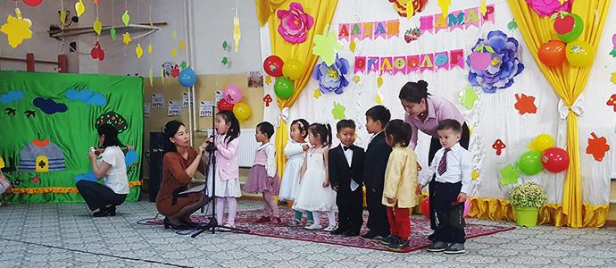 """""""Азийн хүүхдүүд"""" цэцэрлэг 11 дэх жилийнхээ """"алтан намар""""-аа угтав"""