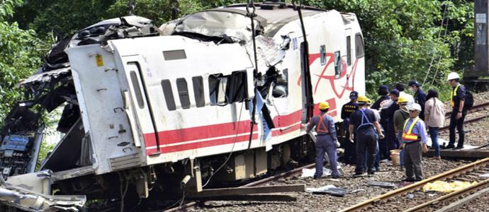 train1 Хурдны галт тэрэг осолдож 18 хүн нас барж, 190 гаруй хүн хүнд гэмтэв