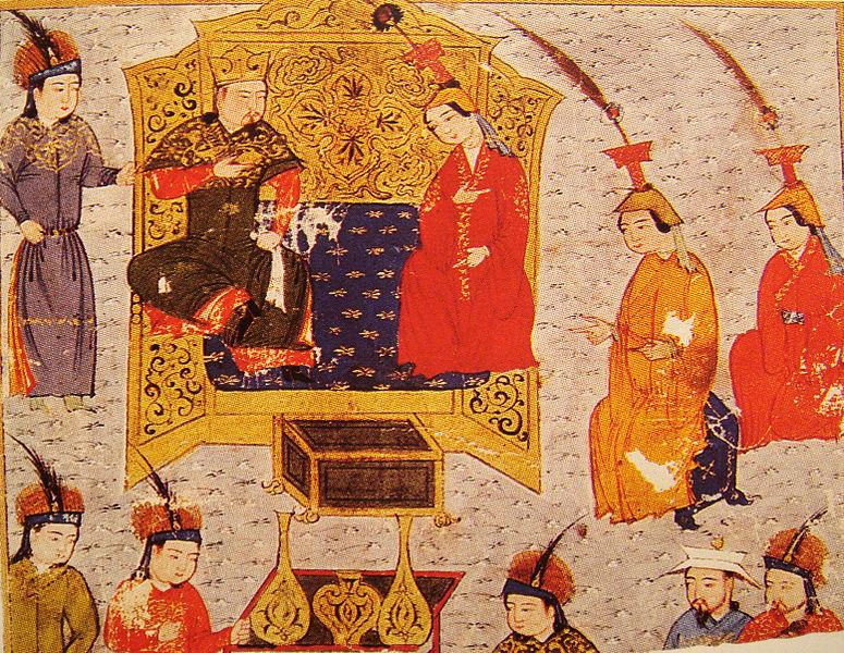 775px-TuluiWithQueenSorgaqtani Чингис хаан болон монголчуудын тухай 25 сонирхолтой баримт