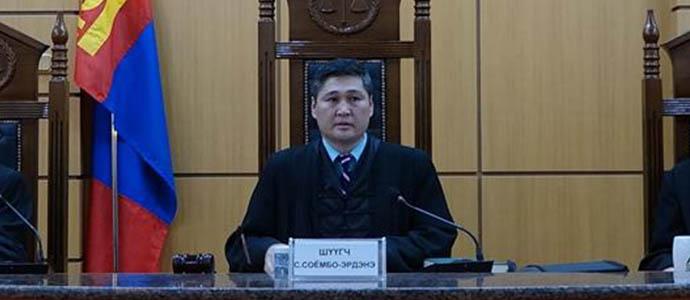 soyombo-erdene Дээд шүүхийн шүүгчид нэр дэвшигч С.Соёмбо-Эрдэнийг танилцууллаа