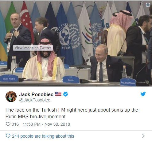 0101 Путин Саудын ханхүүтэй гар алгадан мэндэлсэн ч Трамптай мэндэлсэнгүй