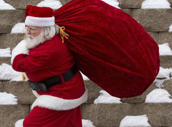 1-14 Герман Санта-Клаусын хомсдолд орж байна