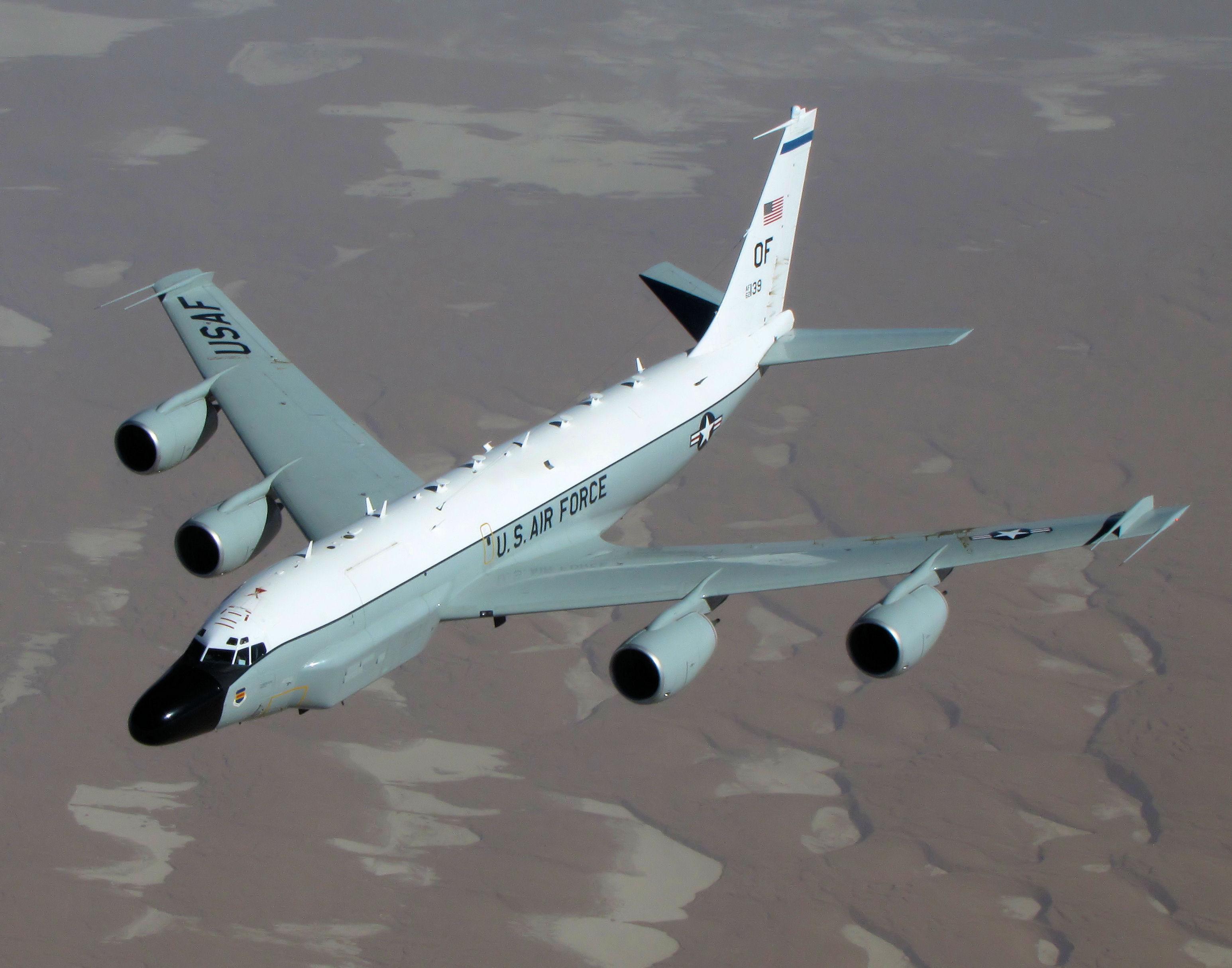 122105-F-PB123-001 Оросын сөнөөгч онгоц Америкийн тагнуулын онгоцыг саатуулжээ