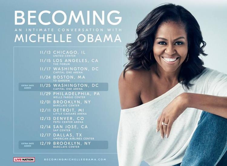 1ed0e2e65ba32e3253bd5142852e75bf Мишель Обама маркетингийн шоуг утгаар нь үзүүлж байна