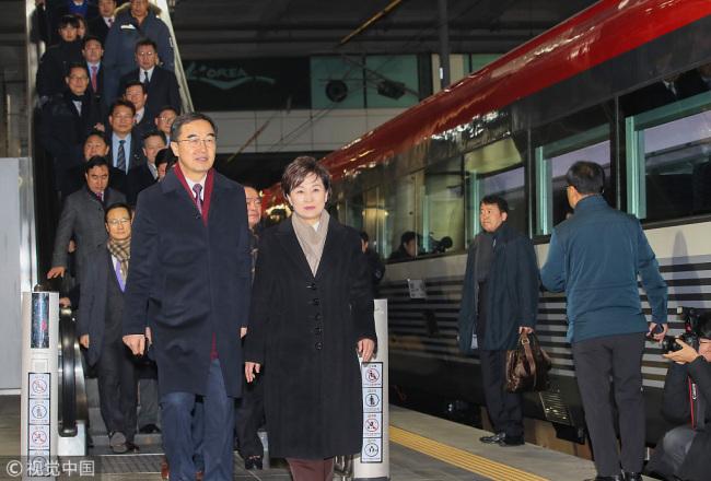 5c22df181238d Хоёр Солонгосыг холбосон төмөр зам өнөөдөр нээгдэнэ