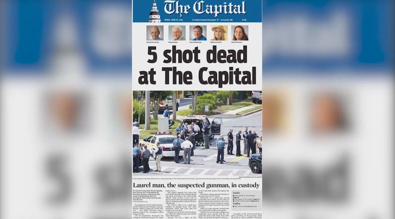 97a926_Front_Page_Gapital_Gazette_x974 Энэ онд дэлхий даяар нийт 80 сэтгүүлч амиа алджээ