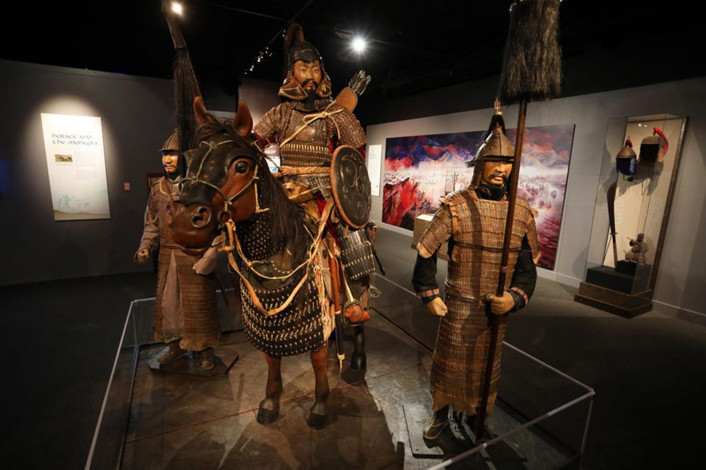 """03-10 """"Чингис хаан"""" үзэсгэлэн АНУ-д нээгдлээ"""