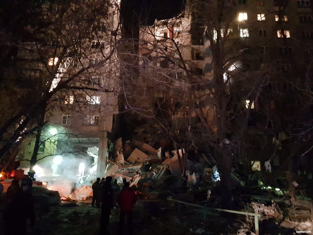 12476585 Орон сууцны барилгад газ дэлбэрч дөрвөн хүн амь үрэгдэв