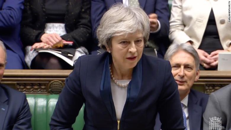 190115135338-theresa-may-brexit-debate-0115-exlarge-169 Brexit-ийг хэрэгжүүлэх төлөвлөгөөг Их Британийн парламент дэмжсэнгүй