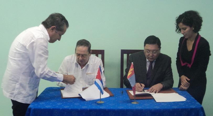 3-11 Куб улс манай улстай эрүүл мэнд, биотехнологийн салбарт хамтран ажиллах санал тавив