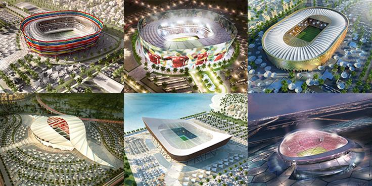 Qatar-2022-FIFA-World-Cup-Stadiums 2022 оны хөл бөмбөгийн ДАШТ-нд 48 баг оролцвол Катарт хүндрэл тулгарч магадгүй