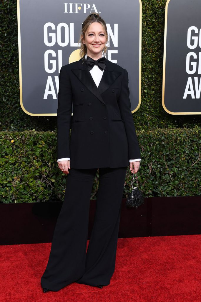 actress-judy-greer-arrives-for-the-76th-annual-golden-globe-news-photo-1078333582-1546818709-683x1024 Алтан бөмбөрцөг 2019: Улаан хивсний ёслол