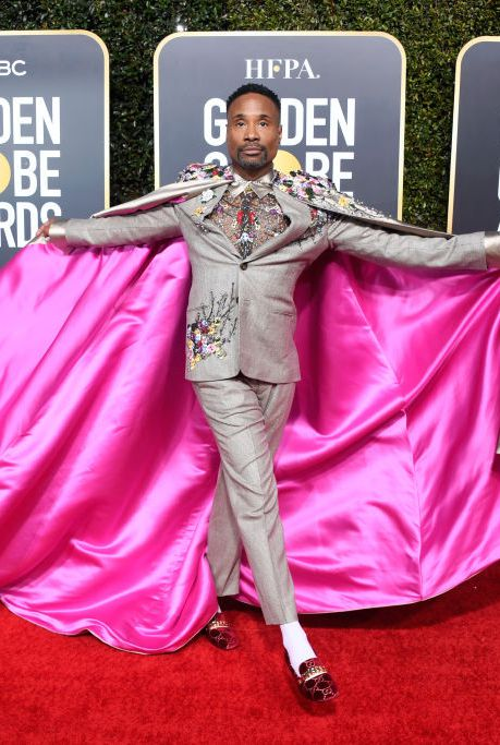 billy-porter-attends-the-76th-annual-golden-globe-awards-at-news-photo-1078337900-1546821989 Алтан бөмбөрцөг 2019: Улаан хивсний ёслол