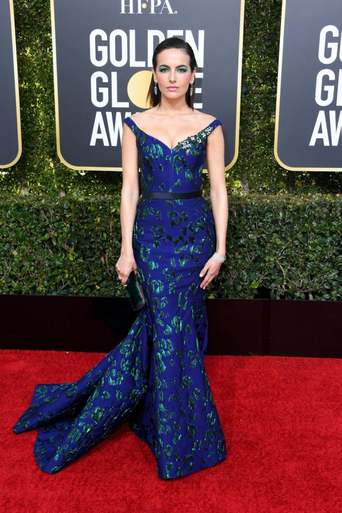 camilla-belle-attends-the-76th-annual-golden-globe-awards-news-photo-1078332096-1546816434-683x1024 Алтан бөмбөрцөг 2019: Улаан хивсний ёслол