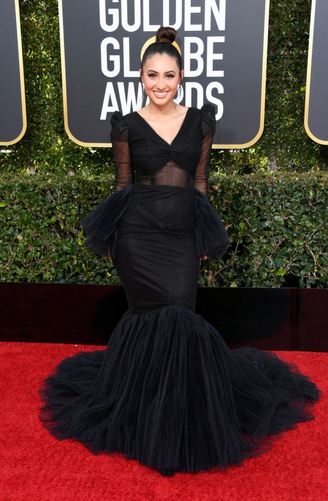 francia-raisa-attends-the-76th-annual-golden-globe-awards-news-photo-1078329726-1546816462-670x1024 Алтан бөмбөрцөг 2019: Улаан хивсний ёслол