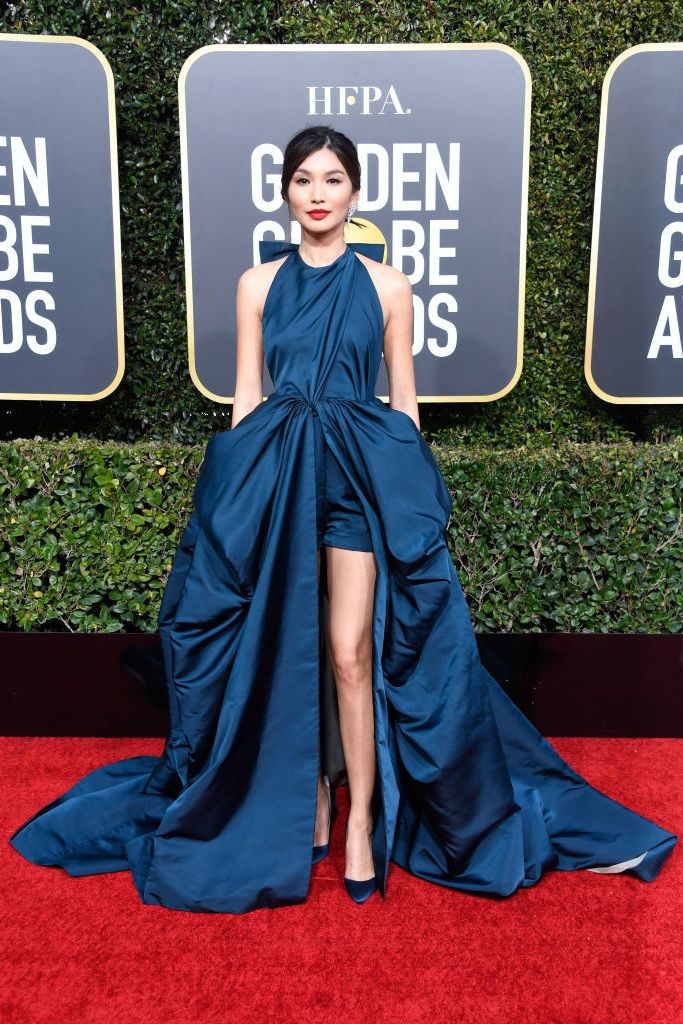 gemma-chan-attends-the-76th-annual-golden-globe-awards-at-news-photo-1078335944-1546823779-683x1024 Алтан бөмбөрцөг 2019: Улаан хивсний ёслол