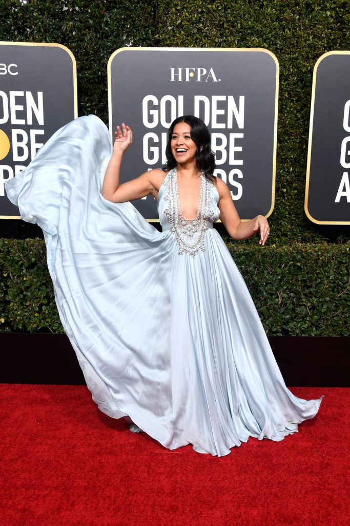 gina-rodriguez-attends-the-76th-annual-golden-globe-awards-news-photo-1078337308-1546822259-683x1024 Алтан бөмбөрцөг 2019: Улаан хивсний ёслол