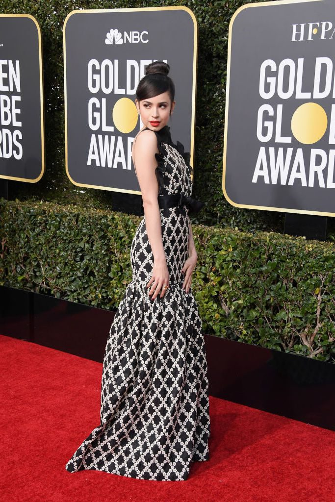 sofia-carson-attends-the-76th-annual-golden-globe-awards-at-news-photo-1078360908-1546837682-683x1024 Алтан бөмбөрцөг 2019: Улаан хивсний ёслол