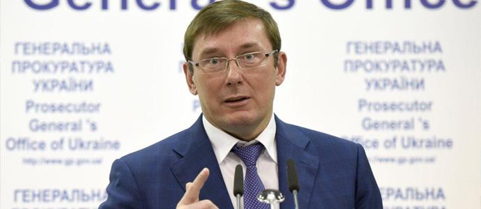 lutsenko Ерөнхийлөгчийн сонгуульд нэр дэвшигчид нөлөөлөхийг оролдсон хоёр этгээдийг саатуулжээ