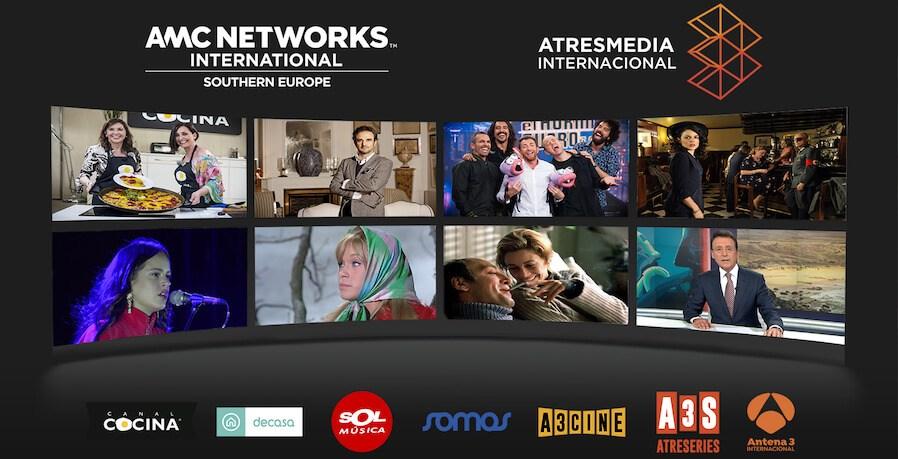 AMCNISE-ATRESMEDIA- Америкийн өвөрмөц медиа төрх