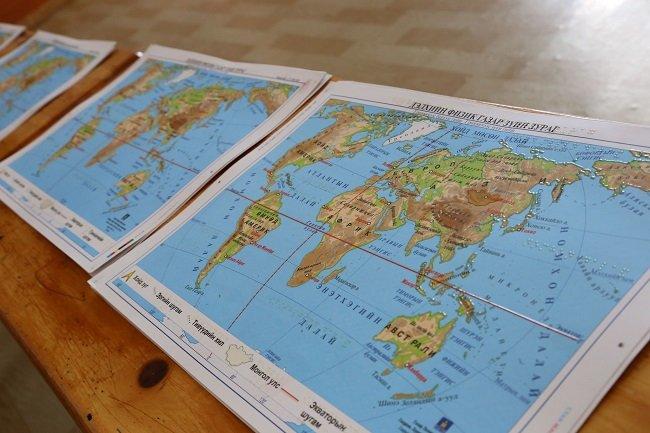 IMG_7578 Монгол улсад анх удаа брайль газрын зураг зохиож хэвлүүллээ