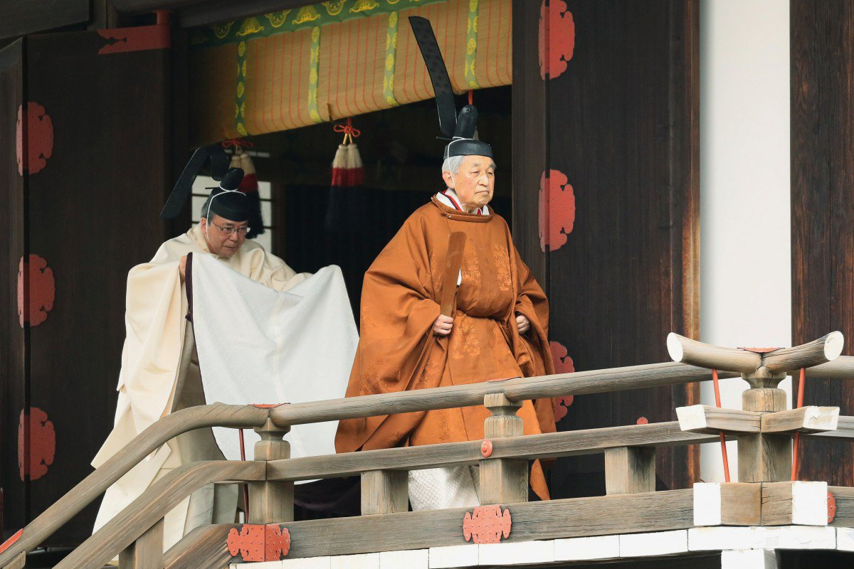 eb666462-6aeb-11e9-994e-1d1e521ccbf6_image_hires_115338 Японы Эзэн хаан сэнтийгээс буух ёслолын ажиллагаа болж байна