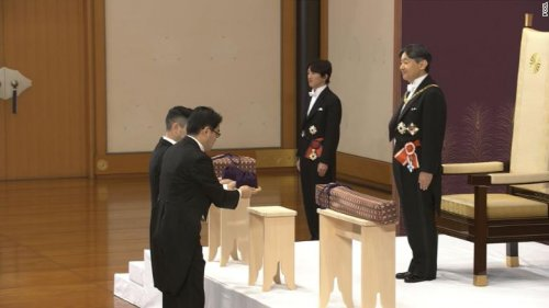 190430213343-naruhito-ceremony-02-exlarge-169-500x281 Японы шинэ эзэн хаан сэнтийдээ заларлаа