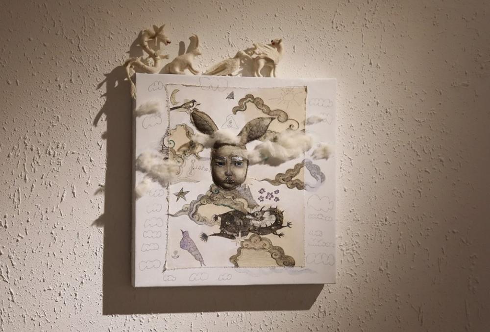 """3K5A4014 Уран бүтээлч Ж. Анунарангийн """"Хайр"""" үзэсгэлэн"""