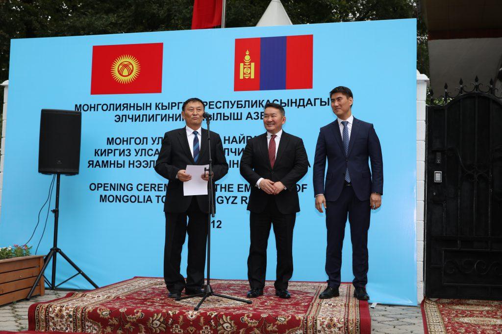 OTGO5592-1024x683 Монгол Улсаас Бүгд Найрамдах Киргиз улсад суух Элчин сайдын яам нээгдлээ