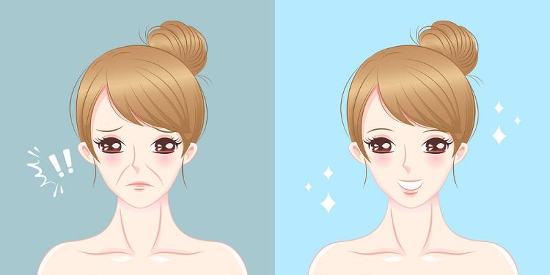 1-20-1 Сайхан инээмсэглэж сурах дасгал нь арьс чангалах давхар нөлөөтэй