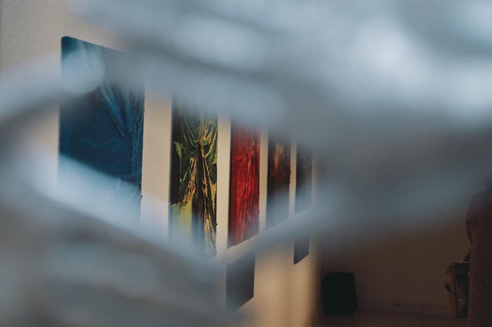 """1-29 Дөрвөн зураачийн """"Дөрвөн хөх"""" үзэсгэлэн ХААН галерейд гарч байна"""