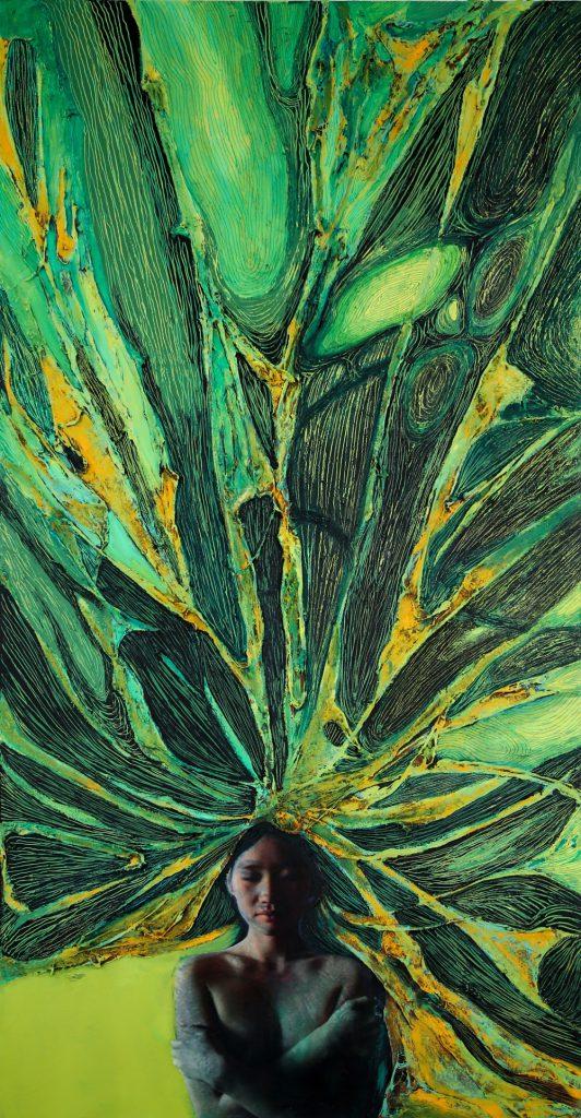 """6-17-532x1024 Дөрвөн зураачийн """"Дөрвөн хөх"""" үзэсгэлэн ХААН галерейд гарч байна"""