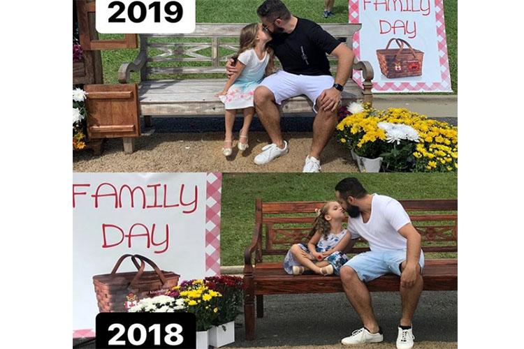 """01020 Ганц бие аав """"Ээжүүдийн баяр""""-аар охиноо баярлуулжээ"""