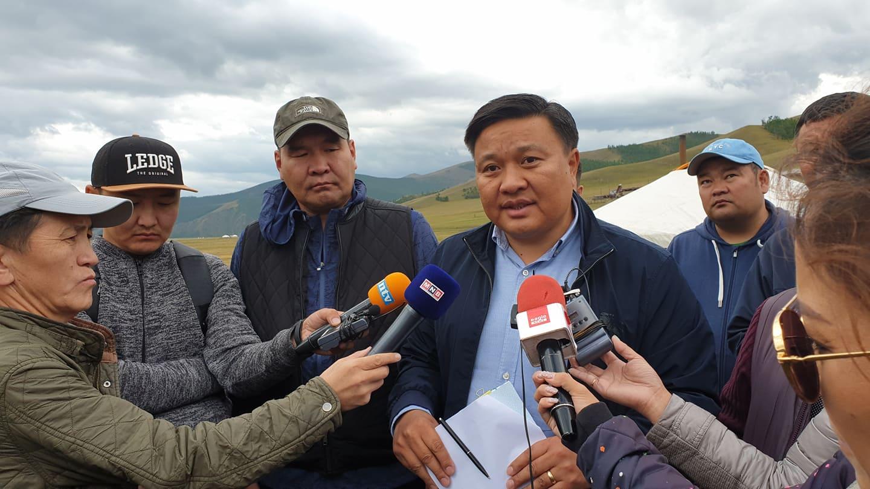 1-29 Орхон голын гольдрол эвдэрч, шар шороогоор урсаж буйд Монгол газар ХХК буруутай