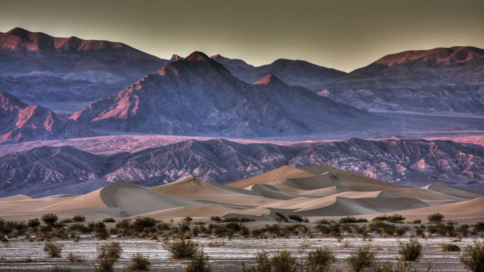 19The-Dunes-at-Sunset-HDR-Version-Death-Valley-Ca Дэлхий дээрх там буюу хамгийн халуун газрууд
