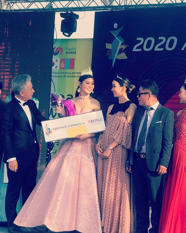 """68751558_2395659744037223_4405495461864013824_n """"Face of Mongolia 2020"""" тэмцээнд 13 настай охин түрүүллээ"""