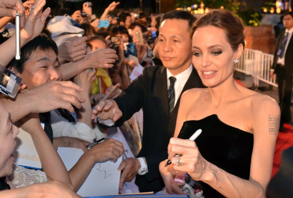 """Angelina-Jolie Фото: Солгой гартай """"Дэлхийн одод"""""""