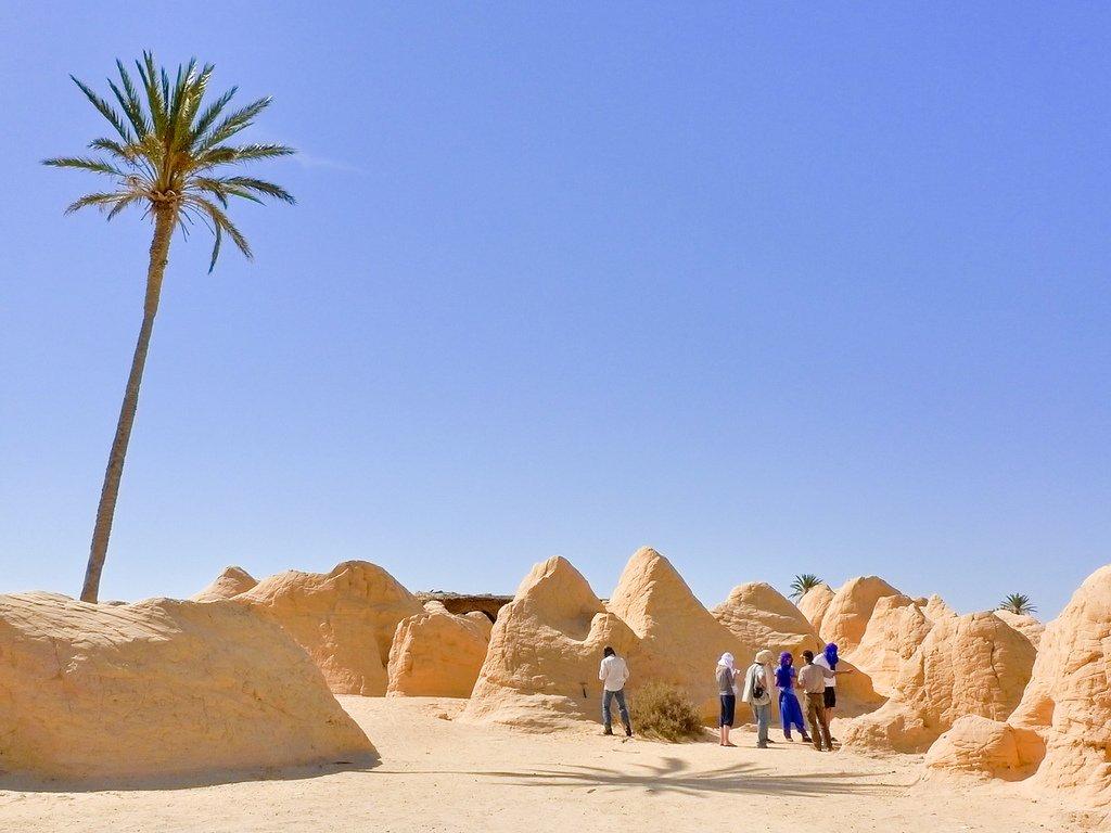 Petrified-dunes-near-Bechri-Kebili Дэлхий дээрх там буюу хамгийн халуун газрууд