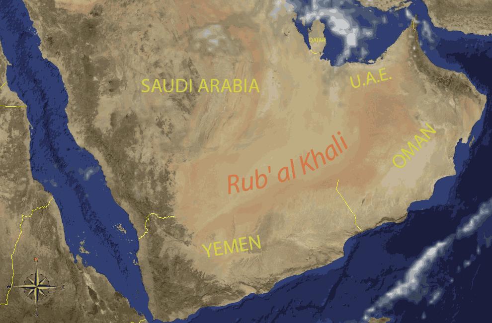 empty_quarter_arabia Дэлхий дээрх там буюу хамгийн халуун газрууд